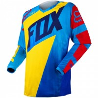 Джерси детская Fox 180 Vandal Kids Jersey Yellow/Blue