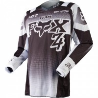 Джерси подростковая Fox 180 Imperial Youth Jersey Black/White