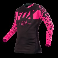 Джерси женская Fox 180 Womens Jersey Black/Pink