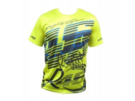 Футболка Yamaha VR46 T-Shirt YELLOW