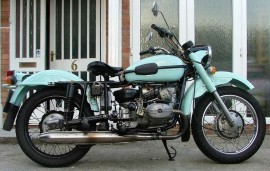 Мотоцикл Урал M 66 (with sidecar) (1974)