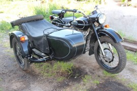 Мотоцикл Урал M 67-6 (with sidecar) (1990)