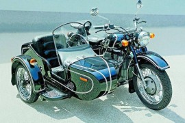 Мотоцикл Урал M 67-6 (with sidecar) (1992)