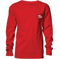 Футболка THOR YOUTH SCRIPT LONG SLEEVE RED TEE