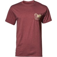 Футболка THOR DELICIOUS TEE BURGUNDY HEATHER