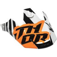 Козырек для шлема THOR VERGE DAZZ ORANGE/WHITE VISOR