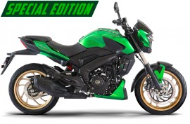 Мотоцикл Bajaj Dominar 400 Limited Edition GREEN (KAWASAKI)