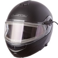 Шлем LS2 FF325 STROBE ELECTRIC SNOW GLOSS BLACK