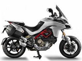 Мотоцикл DUCATI Multistrada 1200 S Iceberg White / Volcano Grey Touring Package