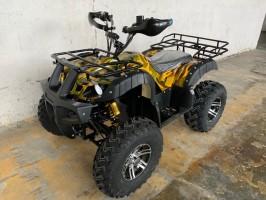 Электроквадроцикл GreenCamel Sahara AWD 4x4 (60V 2x2kW R10 alum Дифференциал) Boston 2P