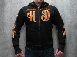 Толстовка Harley Davidson Trade Mark black/orange