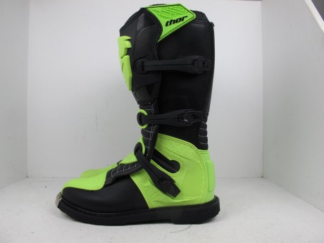 Ботинки Thor BOOT S5 BLITZ CE BLACK/GREEN (14731542949691)