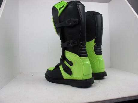 Ботинки Thor BOOT S5 BLITZ CE BLACK/GREEN (14731542955671)