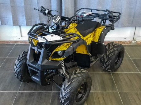 Квадроцикл бензиновый MOTAX ATV Grizlik Super LUX 125 cc (1491554640571)