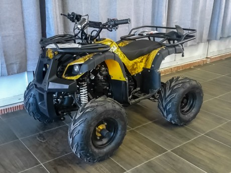 Квадроцикл бензиновый MOTAX ATV Grizlik Super LUX 125 cc (14915546453693)