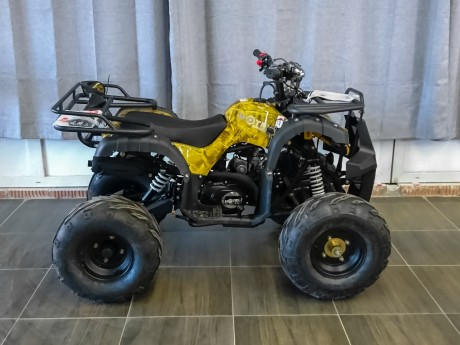 Квадроцикл бензиновый MOTAX ATV Grizlik Super LUX 125 cc (14915546613689)