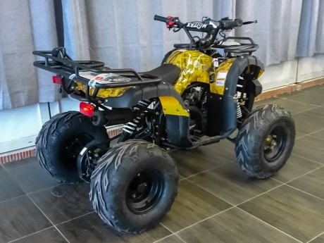 Квадроцикл бензиновый MOTAX ATV Grizlik Super LUX 125 cc (14915546629834)