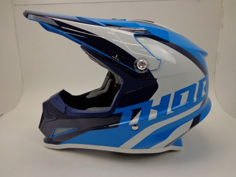 Шлем THOR SECTOR RICOCHET OFFROAD BLUE/NAVY/WHITE (15448765623161)