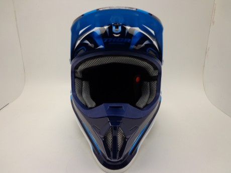 Шлем THOR SECTOR RICOCHET OFFROAD BLUE/NAVY/WHITE (15448765633992)