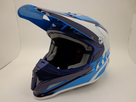 Шлем THOR SECTOR RICOCHET OFFROAD BLUE/NAVY/WHITE (15448765641397)