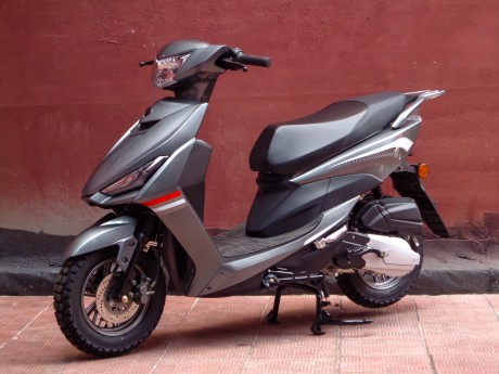 Скутер Honda New Elite 50cc (125) (1531844095701)