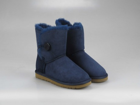 UGG WOMENS BAILEY BUTTON navy 5803 (1537795931747)