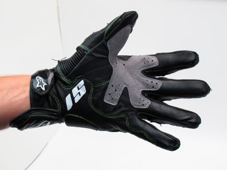 Перчатки AlpineStars S1 Black/Green r (15638058088045)