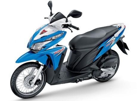 скутер Honda Click 125 новый купить в москве цена продажа