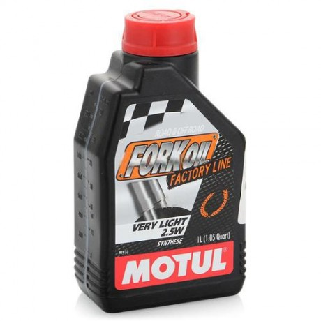 Вилоч/масло MOTUL Fork Oil Fl Very Light 2,5w (1л)