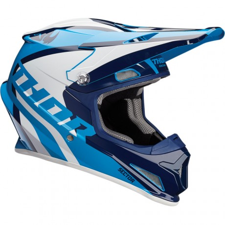 Шлем THOR SECTOR RICOCHET OFFROAD BLUE/NAVY/WHITE