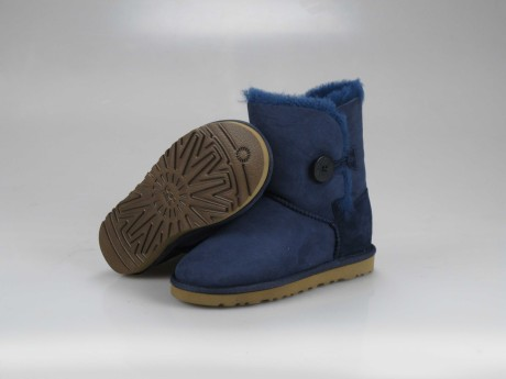 UGG WOMENS BAILEY BUTTON navy 5803