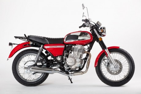 Мотоцикл JAWA 350 OHC Prima