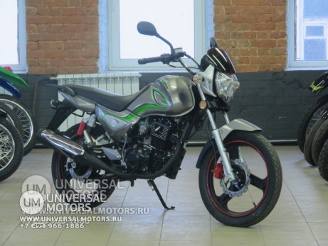 Мотоцикл Zontes Monster ZT125-5A серый. (14231710618533)