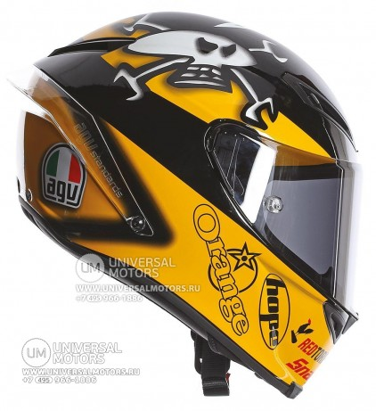 Шлем AGV Corsa Guy Martin Replica (14322154317172)