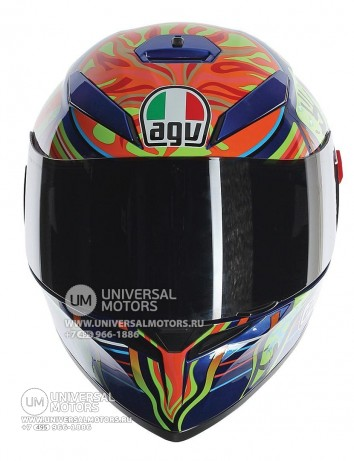 Шлем AGV K-3 SV Five Continents (14322156067189)