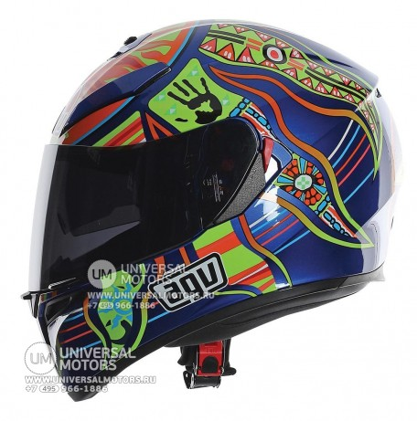 Шлем AGV K-3 SV Five Continents (14322156077189)