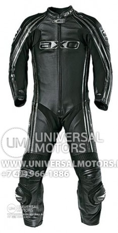 Комбинезон AXO Bullet Leather Suit 1-Peaces (14322161267238)