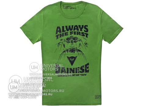 Футболка Dainese T-SHIRT ALWAYS 006 VERDE (14322950884097)