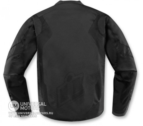 Куртка ICON OVERLORD  JACKET BLACK (14375724580189)