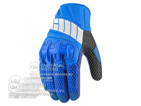 Перчатки ICON OVERLORD GLOVE BLUE MENS (14325545531428)