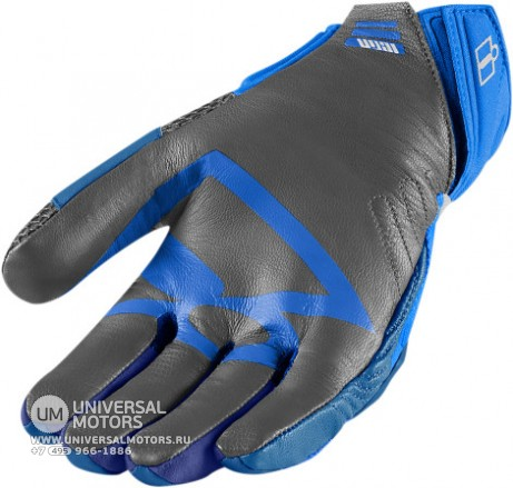 Перчатки ICON OVERLORD GLOVE BLUE MENS (14376457808457)