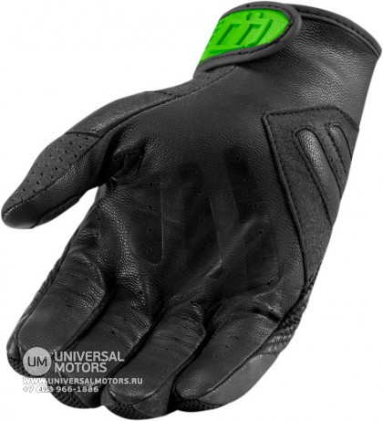 Перчатки ICON SANCTUARY GLOVE GREEN (14376656565141)
