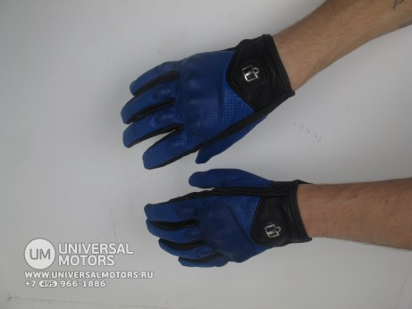 Перчатки ICON PURSUIT GLOVE BLUE (14716756788573)