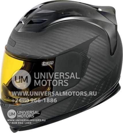 Шлем ICON AIRFRAME GHOST CARBON BLACK (14356723743437)