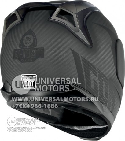 Шлем ICON AIRFRAME GHOST CARBON BLACK (14356723886837)