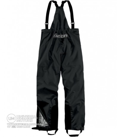 Брюки ICON PDX WATERPROOF BIBS BLACK (14377322365254)