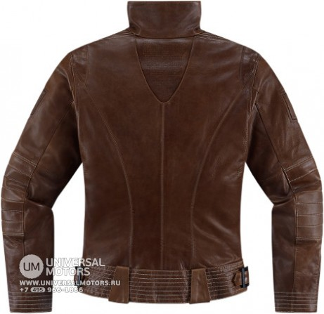 Куртка ICON 1000 FAIRLADY JACKET BROWN (14374647754023)