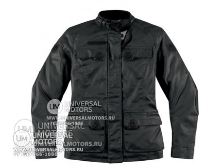 Куртка ICON 1000 AKORP JACKET RESIN BLACK WOMENS (14328157755064)