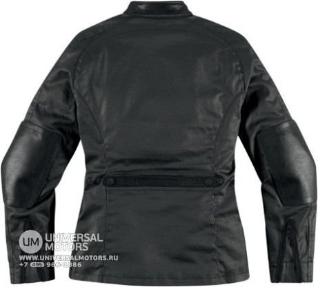 Куртка ICON 1000 AKORP JACKET RESIN BLACK WOMENS (14374845142526)