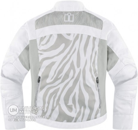 Куртка ICON HELLA 2 TEXTILE JACKET WHITE (14374942896168)